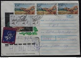Kasachstan 1997, RECO-Umschlag MiF - Kazachstan
