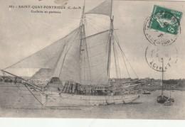 SAINT QUAY PORTRIEUX  - Goelettes En Partance - Saint-Quay-Portrieux