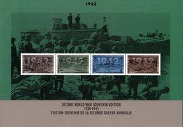 """"""" 1939-1945 EDITION-SOUVENIR DE LA 2éme GUERRE MONDIALE : Les 7 Booklets """" Timbres Neufs ** MNH - 2. Weltkrieg"""