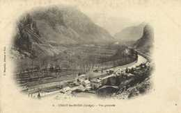 USSAT Les BAINS (Ariège) Vue Generale  F Dauphin Editeur à Foix  RV - Frankreich