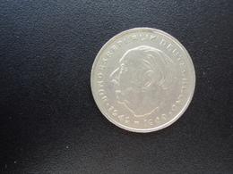 RÉPUBLIQUE FÉDÉRALE ALLEMANDE : 2 DEUTSCHE MARK   1970 J    Tranche A *   KM A127       TTB - [ 7] 1949-… : RFA - Rep. Fed. Alemana