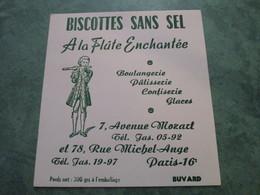 A LA FLÛTE ENCHANTEE - 7, Avenue Mozart Et 78, Rue Michel-Ange - Zwieback