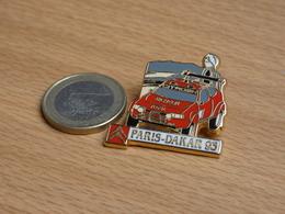 AUTOMOBILE RALLYE RAID PARIS DAKAR 93. CITROEN TOTAL MICHELIN. - Rallye