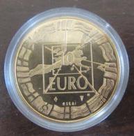France - Jeton / Monnaie - Essai 10 Euros 1998 DE GAULLE / ADENAUER - Bronze Florentin - Belle Epreuve - Monétaires / De Nécessité