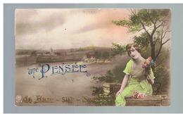 JM23.05 / CPA /  UNE PENSEE DE HAM SUR SAMBRE EN...1923 - Jemeppe-sur-Sambre