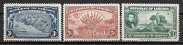 1940 LIBERIA Set Of 3 UNUSED STAMPS (Michel # 308-310) CV €1.10 - Liberia