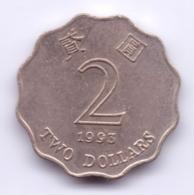 HONG KONG 1992: 2 Dollars, KM 64 - Hongkong