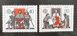 LIECHTENSTEIN   Europa 1982   N° Y&T  732 Et 733  ** - Unused Stamps