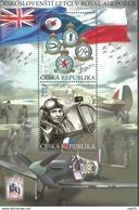 2019 : BF Combattants Tchécoslovaques Dans La R.A.F. Royal Air Force - Blocs-feuillets