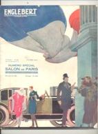 Revue ENGLEBERT - Numéro Spécial : Salon De Paris 1922  - Automobile, Aviation, Sports,moto, Monza, Le Mans, Dinant,... - Livres, BD, Revues
