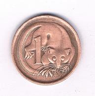 1 CENT 1966 AUSTRALIE /3967/ - Monnaie Décimale (1966-...)