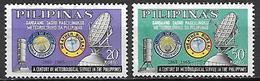 PHILIPPINES   -  1965  .   Y&T N° 615 à 616 Oblitérés.   Météorologie - Filipinas