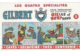 BUVARD   GILBERT  Les Quatre Specialites *****  A SAISIR   ****** - Café & Thé
