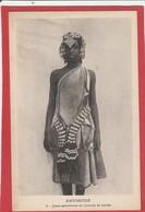 CPA - Ethiopie -Abyssinie -  Jeune Femme Musulmane En Costume De Mariée - Ethiopia