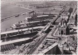 13. Gf. MARSEILLE. Vue Aérienne Des Ports. Le Bassin De La Joliette Et La Cathédrale. 17 - Joliette, Zone Portuaire