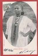 CPA - Ethiopie -Abyssinie -  Jeune Femme - Costumi Africani - - Ethiopia