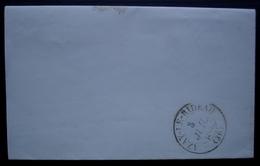 Chinon Indre Et Loire 1852 Lettre Du Sous Préfêt Au Maire D'Azay Le Rideau à Propos Du Nivellement De L'ancien Cimetière - Postmark Collection (Covers)