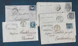 Aude - 5 Lettres - 1849-1876: Klassik