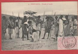 CPA - Ethiopie -Abyssinie -  Dirré Daoua - Fantasia De Somalis - Ethiopia