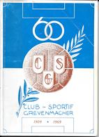 Grevenmacher  60 Ans Club-Sportif - History