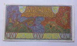 """Stollwerck"" Gruppe 252, Nr.6, Album Nr.5,  November-December ♥  - Chromos"
