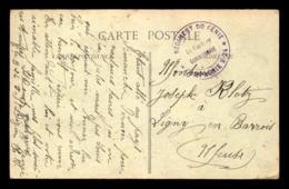 CACHET DU CAPITAINE COMMANDANT LA COMPAGNIE B.24 DU 5E REGIMENT DU GENIE SUR CARTE DE ST-DIZIER (HTE-MARNE) - Marcophilie (Lettres)