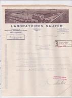 01-Laboratoires Sauter...Produits Pharmaceutiques...Bellegarde....(Ain)..1950 - Frankreich