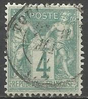 France - Type Sage I - N°63 Oblitéré - 1876-1878 Sage (Tipo I)