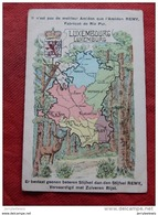 CARTE GEOGRAPHIQUE   -  Luxembourg - Luxemburg     - ( Pub Amidon Remy ) - - Cartes Géographiques