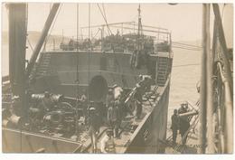Marine De Guerre - Ravitaillement Direct Par Le Cargo Constance - Warships
