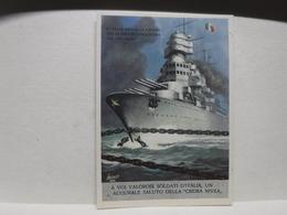 FRANCHIGIA   II  GUERRA  - ILL. GINO BOCCASILE -- L'ITALIA SPEZZA LE CATENE  --ecc. --  CREMA  NIVEA - War 1939-45