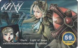 Thailand Phonecard Light Of Hope Anime Manga Movie Film Elektra - Kino