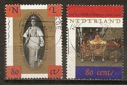 Pays-Bas Netherlands 1998 Coronation Set Complete Obl - Periodo 1980 - ... (Beatrix)