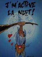 Chauve-Souris.   Rypert    F 22.   Nuit.   Humour.   310 - Künstlerkarten