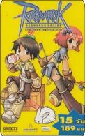 Thailand Phonecard Ragnarok Anime Manga Movie Film Elektra - Kino