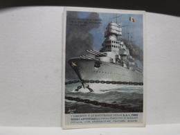 FRANCHIGIA   II  GUERRA  - ILL. GINO BOCCASILE -- L'ITALIA SPEZZA LE CATENE  --ecc. - S.A.I. FIBRE TESSILI ARTIFICIALI - War 1939-45