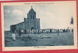CPA: Burkina Faso - Haute Volta - Eglise De Saba - Mission D'Ouagadougou - Burkina Faso