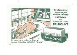 BUVARD  PALMOLIVE SAVON  BAIN  *****    A SAISIR   ****** - Parfum & Cosmetica
