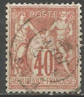 France - Type Sage I - N°70 Oblitéré - - 1876-1878 Sage (Typ I)