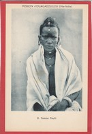 CPA: Burkina Faso - Haute Volta - Femme Peuhl - Mission D'Ouagadougou - Burkina Faso