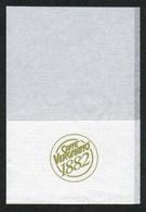Serviette Papier Paper Napkin Tovagliolino Caffè Caffetteria Pasticceria Gelateria CAFE VERGNANO 1882 - Werbeservietten