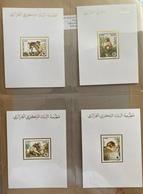 ALGERIA ALGERIE Proofs1988 -faune Protégée Le Magot YT928-931 . MNH/neuf**- Protected Species, Monkey/singe - W.W.F.