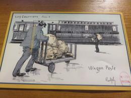Document Wagon Postal - Treni