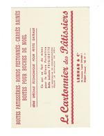 BUVARD  Le Cartonnier Des Patissiers   LEBHAR ET CIE   *****       A SAISIR   ****** - Cake & Candy