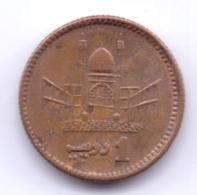 PAKISTAN 2000: 1 Rupee, KM 62 - Pakistan