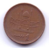 PAKISTAN 1998: 1 Rupee, KM 62 - Pakistan