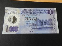Libya  1 Dinar (Polymer) Neu - Libië