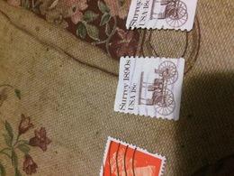 USA AUTO STORICHE 1 VALORE - Briefmarken