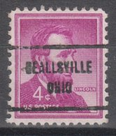 USA Precancel Vorausentwertung Preo, Locals Ohio, Beallsville 713 - United States