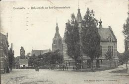 Oostmalle - Achterzicht Op Het Gemeentehuis  - 1922 - Malle